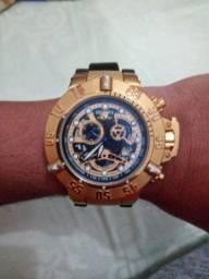 Relógio invicta subaqua noma 3 best under pressure chronograph suíço modelo 18526
