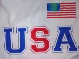 Camisa dos Estados Unidos ou Fábio Assunção por 25 - As 2 por 40
