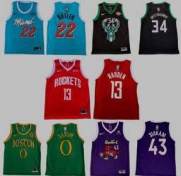 Regatas NBA modelos dryfit 20/21 - 19/20
