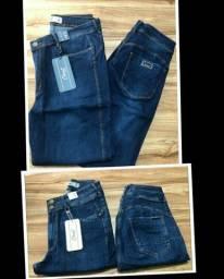 Calça jeans feminina plus size nova