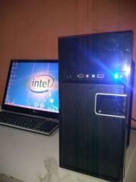 Cpu Hd 500 gb + monitor 24 polegadas