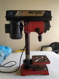 KIT - Moto Esmeril de Bancada + Furadeira de Bancada Motomil