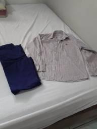 Camisa e calça da Valetinho