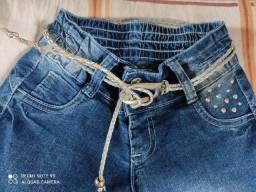 Calça Jeans com cintinho