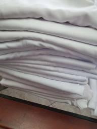 Calças de uniforme brancas