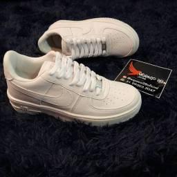 Título do anúncio: Tênis Nike Air force AF1 branco o mais top!
