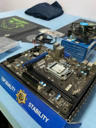 KIT Intel core i3 4170 + Placa mãe msi h81m NA CAIXA!!!