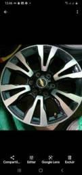 Rodas com pneus S-10 aro 18 original