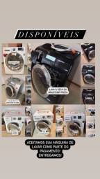 Lava e Seca e Máquina de Lavar Conservadas Entrego