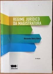 Título do anúncio: Regime Jurídico Da Magistratura - Alexandre Henry Alves