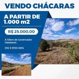 Título do anúncio: Vendo Chácaras 1000m2 25,000