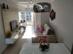 Apartamento com 2 dormitórios à venda, 87 m² por R$ 290.000 - Condomínio Auta Leite Trabal