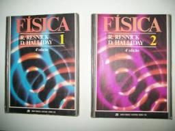 R. Halliday e D. Resnick - livros de física - 4ª edição