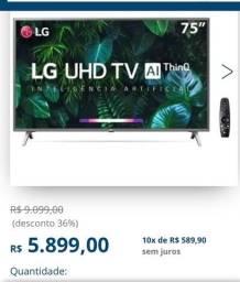 Vendo tv 75? LG com defeito