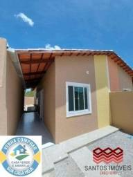 WG Casa Popular entrada a partir de 2.000*, 2 quartos, 1 banheiro social, Garagem.