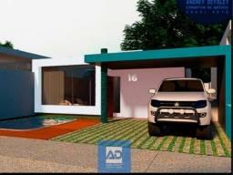 Casa em Massagueira - Obra a todo vapor - 3/4 um suíte - Área de lazer