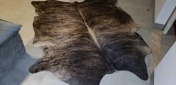 tapetes de couro de boi