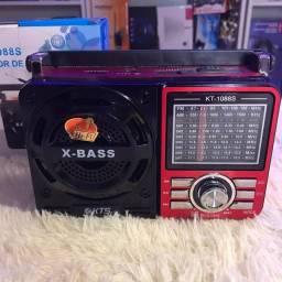 Rádio Retrô Bluetooth Kt-1088s Kts