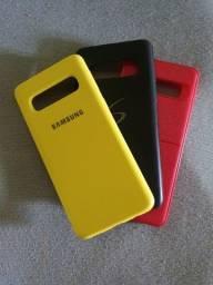 Trio de capinhas para celular - Samsung Galaxy S10