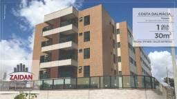 Apartamento com 30m², 01 quarto no edifício Costa Dalmácia - Piedade