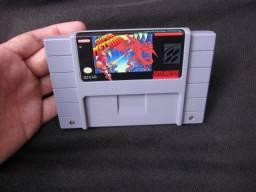 Cartucho Super Metroid Snes Nintendo impecável veja as fotos