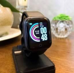 Relógio smart y68 e Fone Bluetooth y30