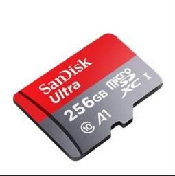 Cartão memória micro Sd 256Gb