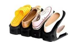 Kit com 10 organizadores de sapatos / sandálias / tênis - novos