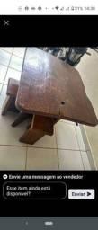 Mesa madeira maciça rústica