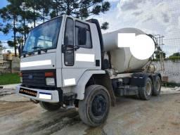 Ford cargo 2422 ano 98 traçado 6x4 betoneira silo 7m³