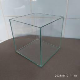 aquario vidro 15cm