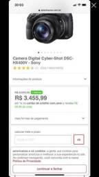 CAMERA DIGITAL: Cyber -shot DSC HX400V- SONY