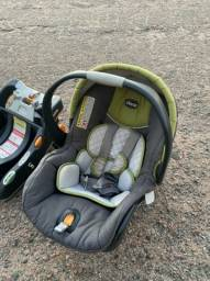 Carrinho Chicco e Bebê Conforto