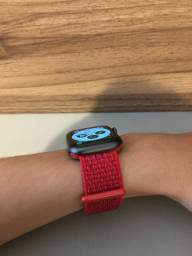 Pulseira loop esportiva vermelha para Apple Watch de 38mm e 40mm
