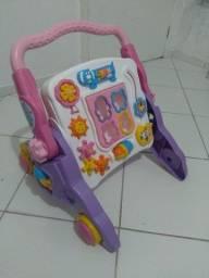 Andador infantil interativo musical 4 em 1
