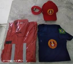 Vendo fardamentos completo de bombeiro civil
