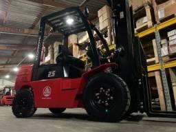 Empilhadeira Diesel Hangcha | 2,5 toneladas Diesel | 4,7 metros