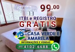 Saia do aluguel, ligue (85) 4102-6688 | Casa Verde e Amarela| Gran Village Eusébio 2