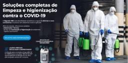 Desinfecção / Sanitização de ambientes