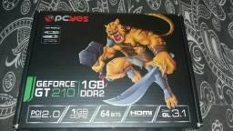 Placa de video GeForce gt 210 1gb ddr2