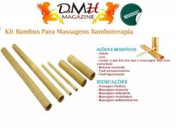 Kit Bambu Para Massagens.