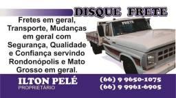 Fretes para todo o Mato Grosso e região