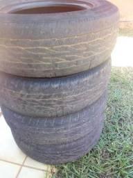Vendo pneus usados p camionete