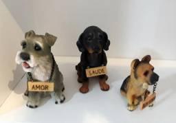 Cachorrinhos de mesa, presente e decoração