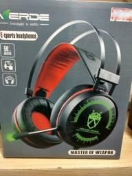 Headset Gamer EJ-009 P/ PC PS4 Xbox