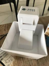 Bebedouro automático cachorro gato Fonte Aqua Cube Amicus - USADO