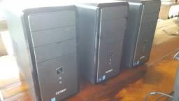 Computadores, tela token, impressoras e gavetas