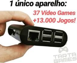 VídeoGame Retro +13.000 Jogos de 37 vídeo games em 1 único aparelho