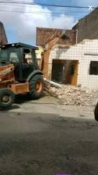 Aluguel de retro escavadeira e caçamba