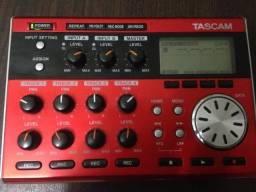 Tascam Dp-004 Digital 4-track Pocketstudio Gravador (ZERO) Original!!!!